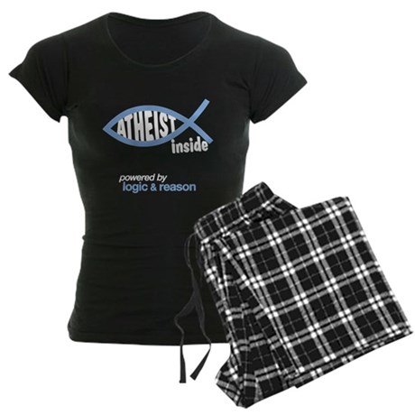 atheist inside Women's Dark Pajamas