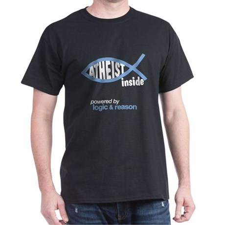 atheist inside Dark T-Shirt