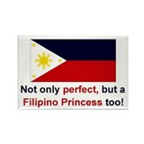 "Perfect Filipino Princess Magnet (3""x2"")"