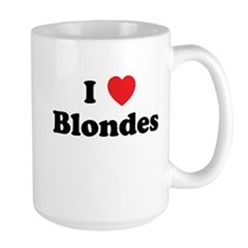I Heart Blondes Coffee Mug