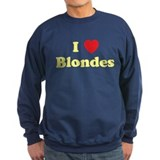 I Heart Blondes Sweatshirt