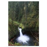 Punchbowl Falls at Eagle Creek Columbia River Gorg