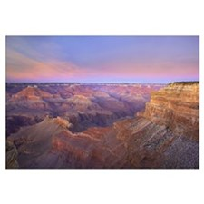 Grand Canyon as seen from Mohave Point at sunset G