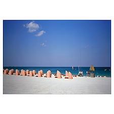 Beach Scene Miami FL