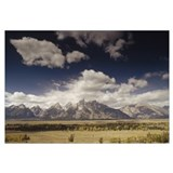 Teton Range, Snake River Valley, Grand Teton Natio