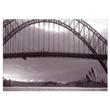 Harbor Bridge Pacific Ocean Sydney Australia