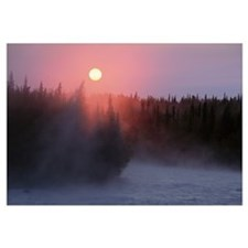 Sunrise over Kasilof River, Kasilof, Alaska