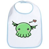 Sweethulhu cute Cthulhu Bib