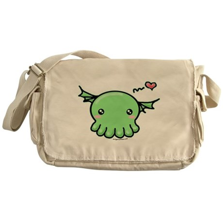 Sweethulhu cute Cthulhu Messenger Bag