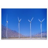 Wind Turbines near Palm Springs CA