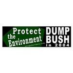 Protect the Environment Bumper Sticker