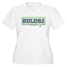 RULDS2 - Are You LDS Too Text T-Shirt