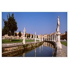 Italy, Padua, Prato Della Valle
