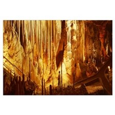 Arkansas, Ozarks, Blanchard Springs Cavern, High a