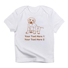 Brown Labrador Puppy. Infant T-Shirt