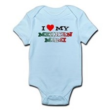 I Love Mexican Mami Infant Bodysuit