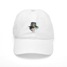 Custom Owl Graduate Baseball Cap
