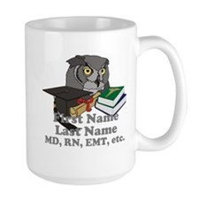 Custom Owl Medical Graduate Mug