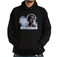 Walking Dead Love Your Brains Hoodie