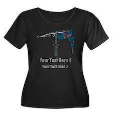 Power Drill. Custom Text. T