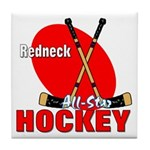 Rednexk Hockey Tile Coaster