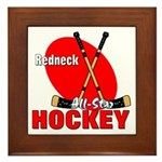 Rednexk Hockey Framed Tile