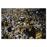 High angle view of a cityscape, Bundi, Rajasthan,