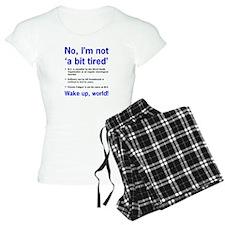 ME Awareness pajamas