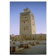 Low angle view of a minaret, Koutoubia Mosque, Mar