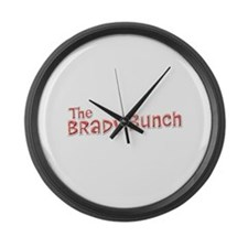 The Brady Bunch Large Wall Clock