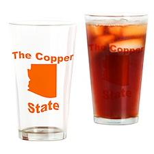 Arizona: The Copper State Drinking Glass