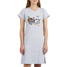 Artist At Work Women's Nightshirt