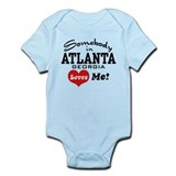 Somebody In Atlanta Loves Me Infant Bodysuit