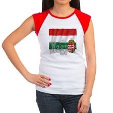 Silky Flag Magyar (Hungary) Tee
