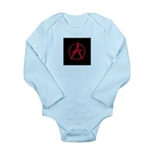 Anarchy Long Sleeve Infant Bodysuit