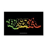 Rasta Sticker 2 22x14 Wall Peel