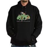 Cute Bush cartoon Hoodie