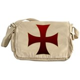 Templar Cross Messenger Bag