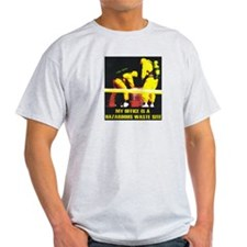 Ash Grey T-Shirt, Hazardous Waste Site