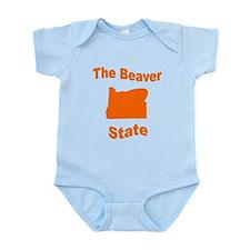Oregon: The Beaver State Infant Bodysuit