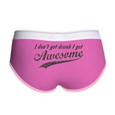 Vintage I Get Awesome Women's Boy Brief