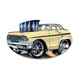 1964 Ford Thunderbolt 22x14 Oval Wall Peel