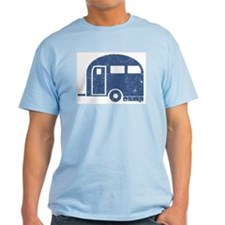Camping Trailer Ash Grey T-Shirt