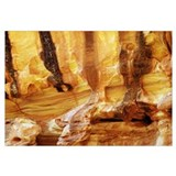 Canyon wall detail, Grand Wash, Capitol Reef Natio