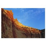 Low angle view of canyon wall, Capitol Gorge, Capi