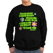 Clowns Never Laughed Before Dark Sweatshirt