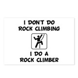 Do A Rock Climber Postcards (Package of 8)