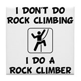 Do A Rock Climber Tile Coaster