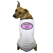 Carolina girl Dog T-Shirt