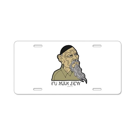 Fu Man Jew Aluminum License Plate